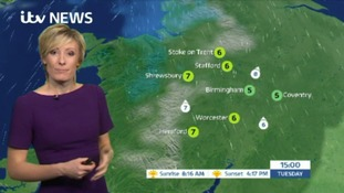 West Midlands Weather: Cloudy and damp