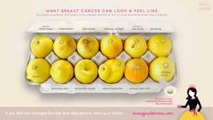 Know Your Lemons breast cancer awareness campaign.