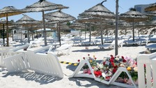 Scene of the attack in Sousse