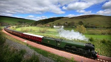 WATCH: Flying Scotsman to officially reopen Carlisle to Settle line