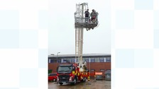 Largest fire rescue vehicle in region in Tyne & Wear
