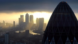 A file photo of the City of London.