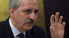Numan Kurtulmus said Turkey's war with terror continues.