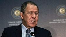 Sergei Lavrov said he hoped for greater cooperation on Syria when Mr Trump takes office