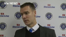 Stranraer FC Manager leaves club