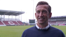 New Northampton Town manager Justin Edinburgh
