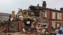 Man arrested after explosion at house in Blackley