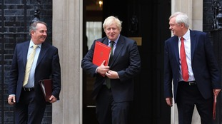 International Trade Secretary Liam Fox, Foreign Secretary Boris Johnson and Brexit Secretary David Davis all called for Britain's exit from the EU.