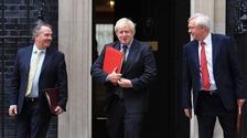 International Trade Secretary Liam Fox, Foreign Secretary Boris Johnson and Brexit Secretary David Davis all called for Britain's exit from the EU.
