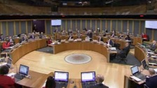 Divisions in Assembly on Wales Bill vote