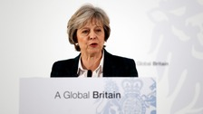Theresa May delivers details of Brexit plans