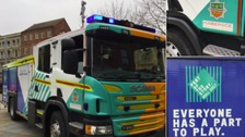 City of Culture fire engines unveiled in Hull