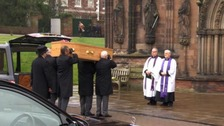 Funeral takes place for sexual assault campaigner Jill Saward