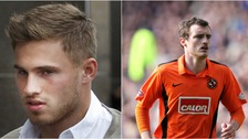 David Goodwillie (left) and David Robertson (right) will now have to pay damages.