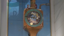 The Wishing Fish Clock