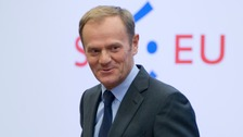 Donald Tusk said the Union's 27 remaining members were ready to negotiate with the UK