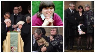 Jill Saward's twin sister pays emotional tribute at her funeral
