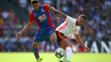 Keshi Anderson in action for Crystal Palace.
