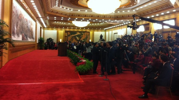 The stage where China&#x27;s new leaders will be revealed