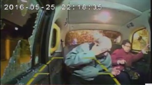 Teens hurl stones through taxi window leaving 70-year-old woman with fractured skull