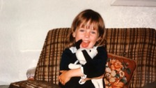 Joanna Dennehy seen as a child. She is now serving life sentences for killing three men