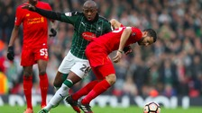 Plymouth drew 0-0 at Anfield