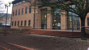 Man bailed after muck spread outside Derby Crown Court