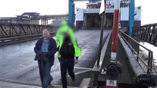 Watch: Ferry worker arrested after making fortune smuggling cocaine into Hull