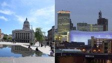 Nottingham and Birmingham most 'friendly'