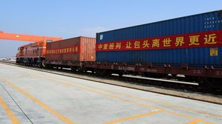 Chinese freight train
