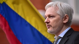 Julian Assange has been living in self-imposed exile.