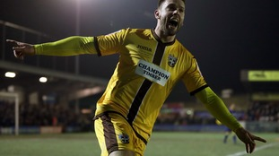 Sutton United's Dan Fitchett