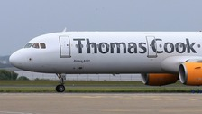 File photo of a Thomas Cook aircraft