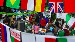 Students want an international experience