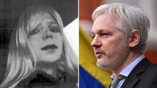 WikiLeaks said Assange would agree to extradition if Manning was granted clemency.