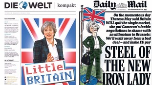 May's Brexit plan: How Britain and Europe's newspapers reported it