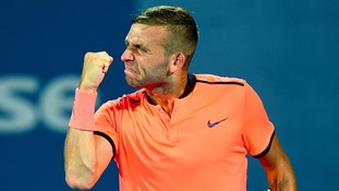 Brit Evans sees off Cilic in Australian Open