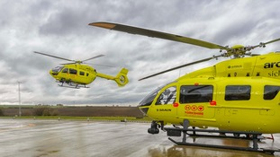 New Yorkshire Air Ambulance helicopter takes flight