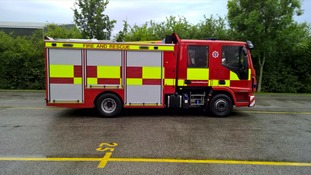Firefighters sent home for refusing to operate 'tactical vehicle'