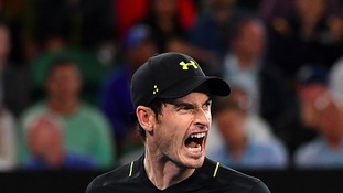Murray progresses after ankle injury scare