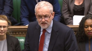 Jeremy Corbyn described May as the 'irony lady'