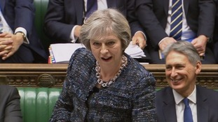 May described Corbyn as 'not having a clue'