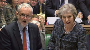 Corbyn accuses May of proposing 'bargain basement Brexit'