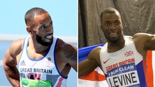 Two British sprinters in hospital after 'motorbike collision'