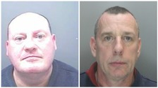 Eddie Tron, right, and Mark Quilliam were jailed for 16 years