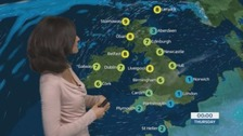 Dry, quiet and calm for most of the UK