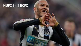 Newcastle beat Birmingham City 3-1
