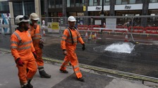 Staff from Thames Water
