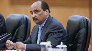 Mohamed Ould Abdel Aziz, pictured in 2015.