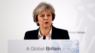 Theresa May set to reassure business leaders in Davos
